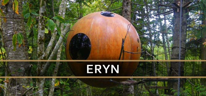 Eryn Sphere - Free Spirit Spheres Accommodations Link