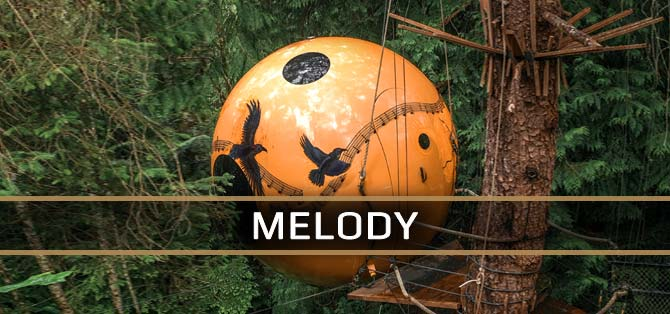 Melody Sphere - Free Spirit Spheres Accommodations