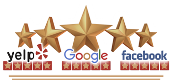 Free Spirit Spheres 5 Star Customer Reviews Banner